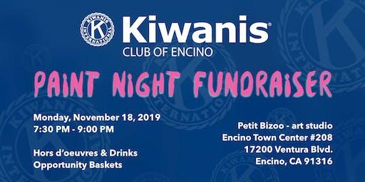 Kiwanis Club of Encino - Paint Night Fundraiser