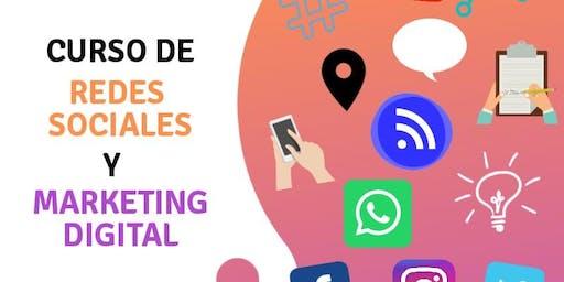 Pre-Inscripción Taller de Redes Sociales y Marketing Digital