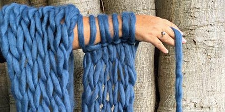 The Art of Arm Knitting Workshop tickets
