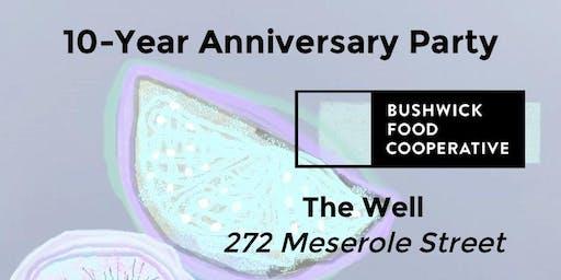 Bushwick Food Co-op 10-Year Anniversary Party