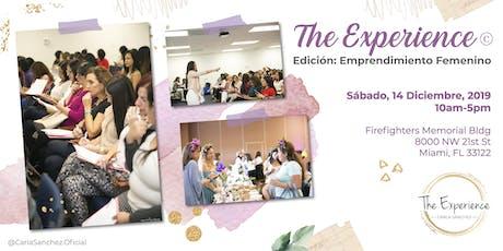 The Experience: Edición emprendimiento femenino. tickets