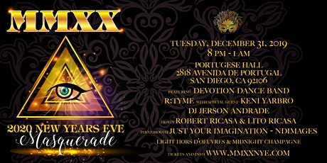 MMXX New Years Eve Masquerade Ball tickets