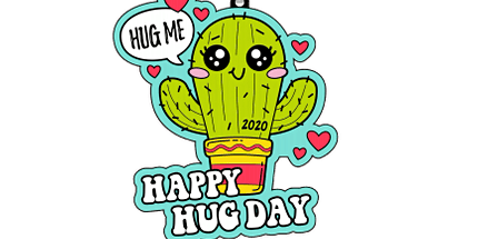 2020 Happy Hug Day 1M, 5K, 10K, 13.1, 26.2 - Green Bay