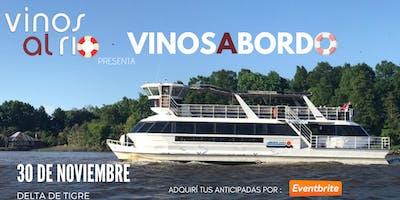 Vinos al Río presenta Vinos a Bordo