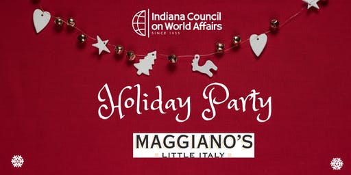 ICWA - Holiday Dinner at Maggiano's
