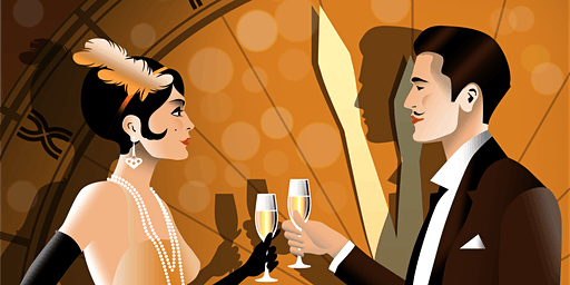 New Year's Eve Secret Speakeasy: Roaring 2020s Great American Speakeasy