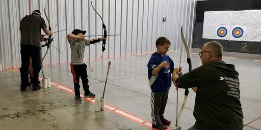 Special Needs Archery W/Santa
