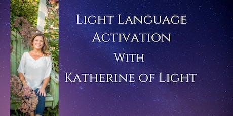 Light Language DNA Activation tickets