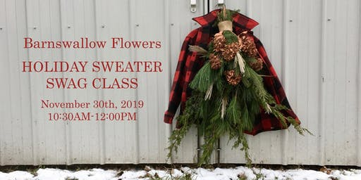 BSF Holiday Sweater Swag Class (SAT NOV 30)