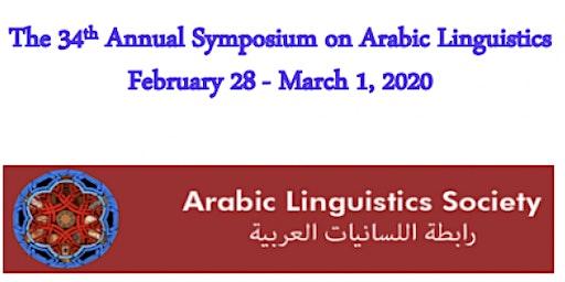 The 34th Annual Symposium on Arabic Linguistics