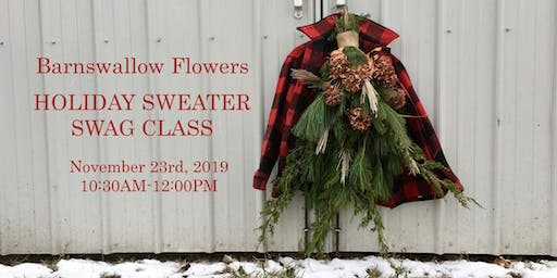 BSF Holiday Sweater Swag Class (SAT NOV 23)