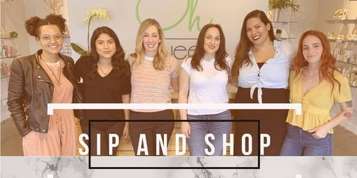 Sip and Shop @ Oh Sweet:Skincare and Sugaring at it's finest!