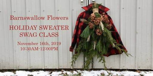BSF Holiday Sweater Swag Class (SAT NOV 16)