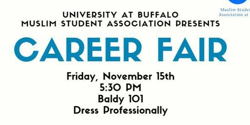 UB Muslim Student Association Career Fair