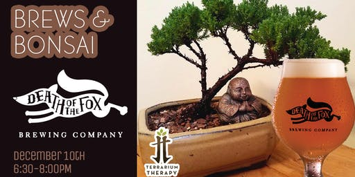 Brews and Bonsai at Death of the Fox Brewing Company