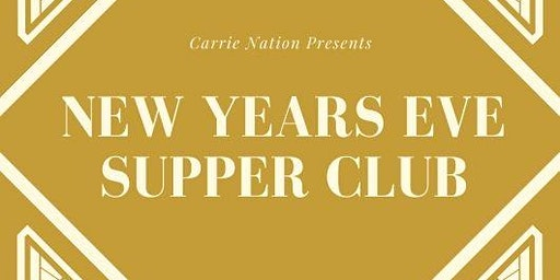 New Years Eve Supper Club