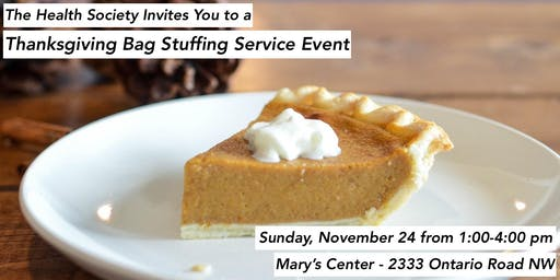 SHPYP Thanksgiving Community Service Event