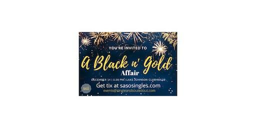 SASO 2019 Holiday Soiree':  It's a Black n' Gold Affair