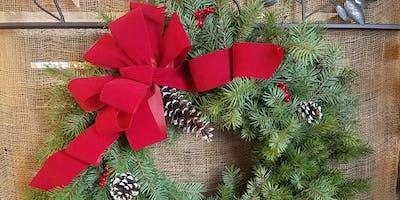 Fresh Evergreen Wreaths (2nd Class)