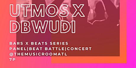 Utmos & DBWUDI Bars x Beats 2.0 tickets