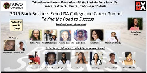 Black Business Expo USA College and Career Summit