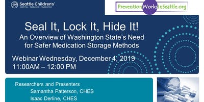 Seal It, Lock It, Hide It! The Need for Safer Medication Storage Methods