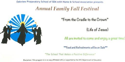 Annual Family Fall Festival 2019