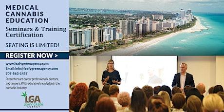 Florida One Day Medical Marijuana Masterclass Workshop - Miami tickets