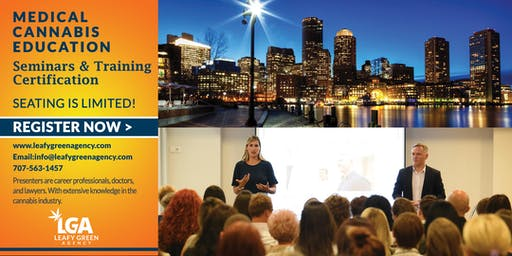One Day Recreational/Medical Marijuana Masterclass Workshop - Massachusetts