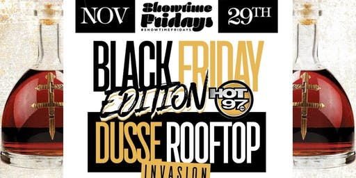 Black Friday Dusse Invasion @ Hudson Terrace