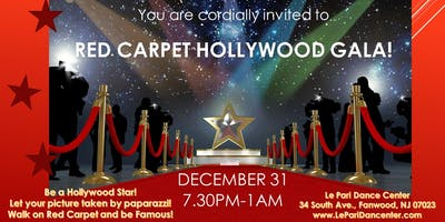 "New Year ""Red Carpet Hollywood Gala""  2019-2020"