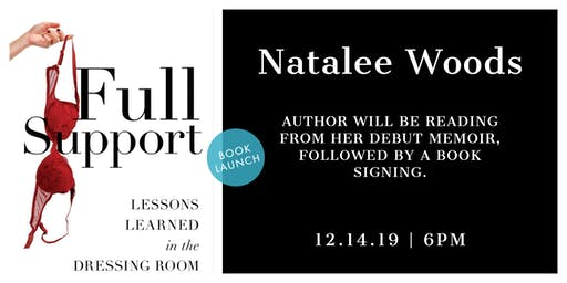 Book Launch for Full Support: Lessons Learned in the Dressing Room
