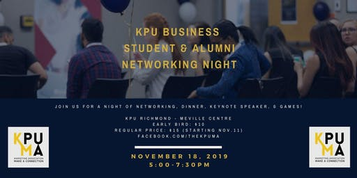 KPU Business Student & Alumni Networking Night