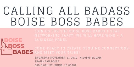 Boise Boss Babes  - 1 YEAR PARTY!