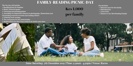 Nairobi Family-Reading Picnic-Day | Kes 1,000 tickets