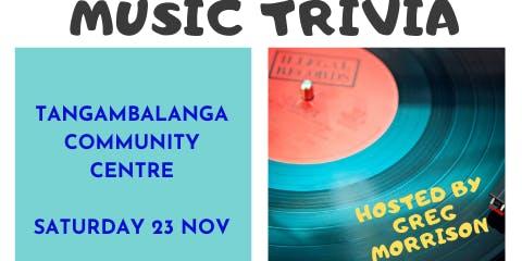 MUSIC TRIVIA FUND-RAISER FOR INDIGO FM