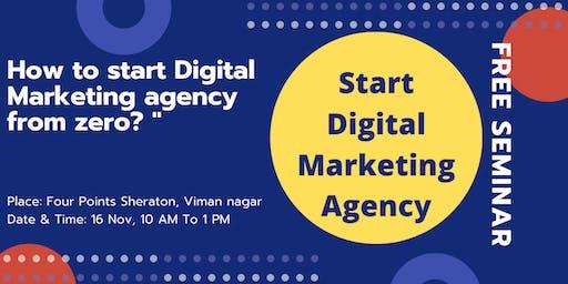 How to start digital marketing agency from zero?