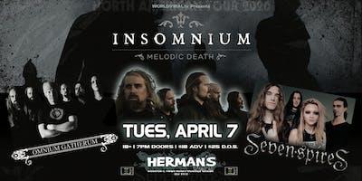 INSOMNIUM w/ Omnium Gatherum | Seven Spires