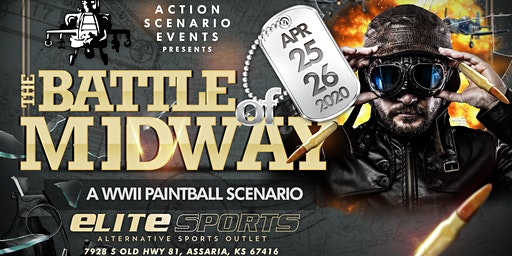Battle of Midway: Paintball Scenario Game: 2 Day Event