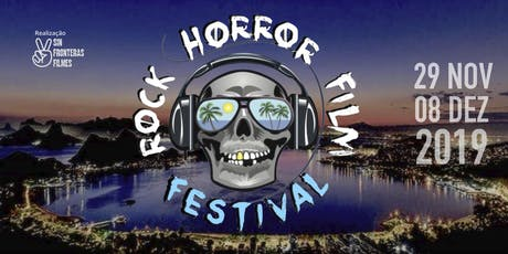 Rock Horror in Rio Film Festival 2019 ingressos
