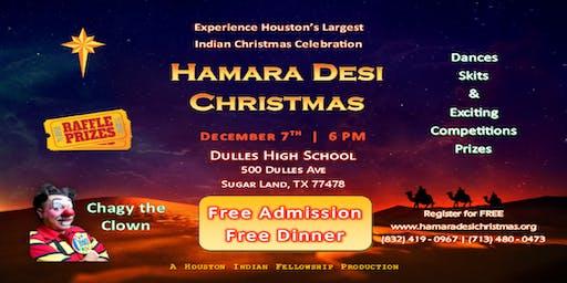 Hamara Desi Christmas 2019