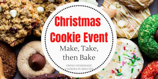 Make, Take then Bake Cookie Event