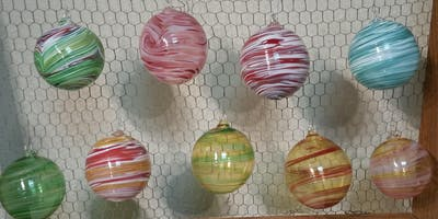 Blow your own Christmas Ornament