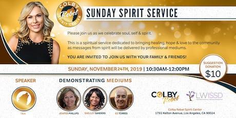 Sunday Spirit Service 11/24/2019-Los Angeles tickets