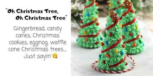 Edible Christree Tree Kids Craft
