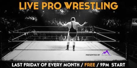 Live Pro Wrestling tickets