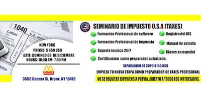 SEMINARIO DE TAXES U.S.A (UIS IMMIGRATION SERVICES)