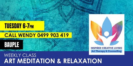 Art Meditation and Relaxation – Bauple tickets