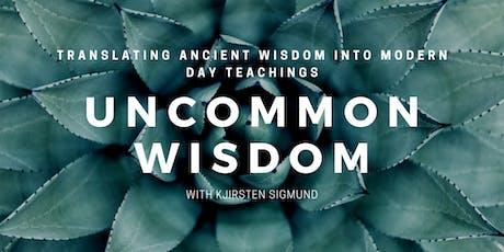 Uncommon Wisdom tickets