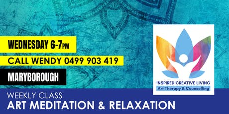 Art Meditation and Relaxation – Maryborough tickets